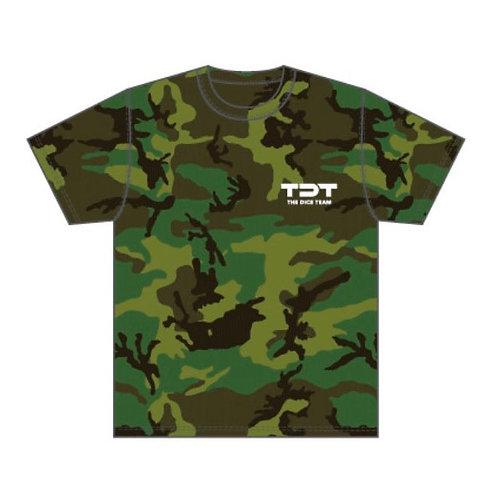 TDT ドライTシャツ 迷彩