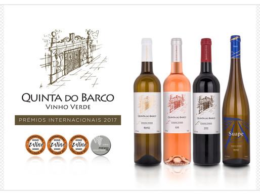 Ano de distinções para os vinhos Quinta do Barco