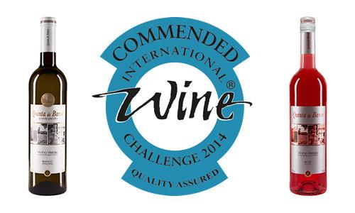 Vinhos Quinta do Barco premiados pelo IWC