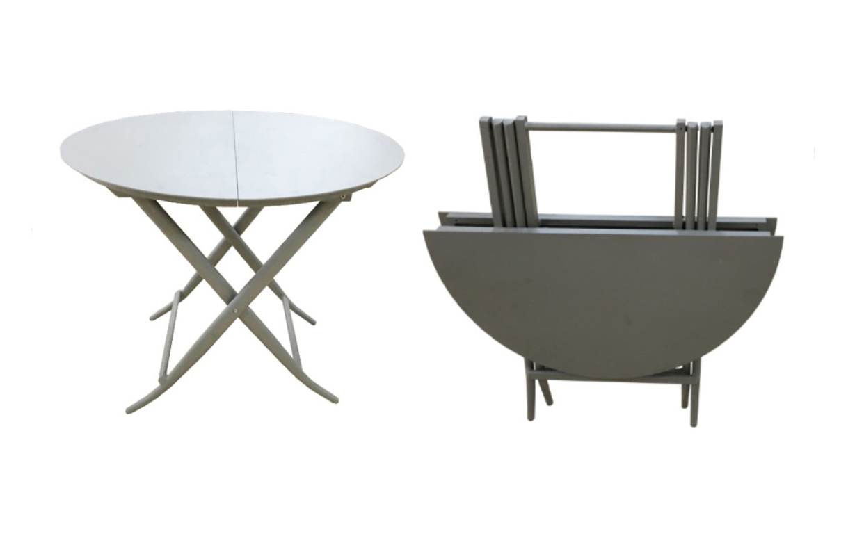 FOLDING TABLE round revised