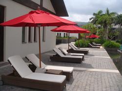 Fibersun Red Umbrella