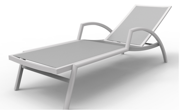 Monterey Chaise 3D drawing