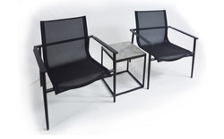 NUR Low Chairs with Side Table