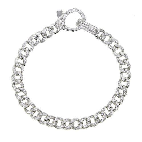 Cuban Link Bracelet Silver