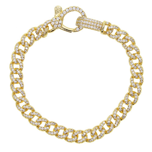 Cuban Link Bracelet Gold