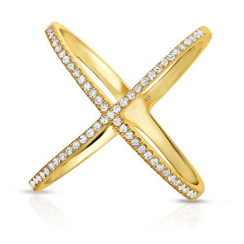 X Band Ring Gold