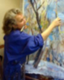 Clare van Stolk painting.