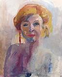 Portrait Sonja Barend by Clare van Stolk. Sterren op het doek.