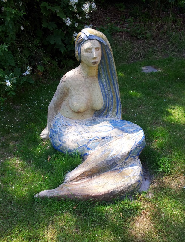 mermaid, height 82 cm.