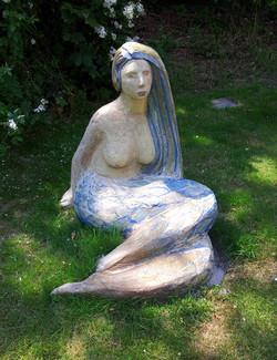mermaid, height 82 cm.