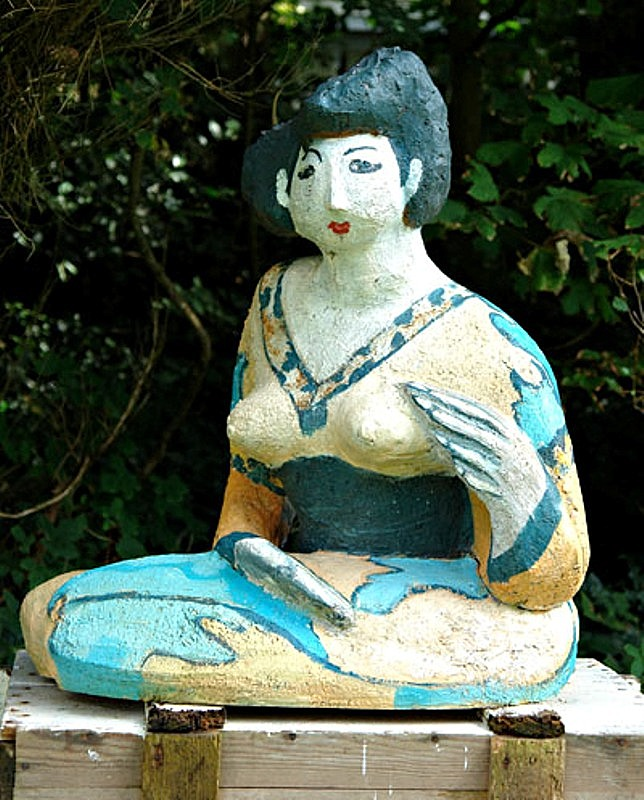 geisha 2, height 70 cm.