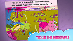 Tickle Finger and the Dinosaurs