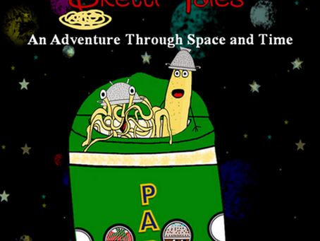 Every Atheist Parent Needs: Sketti Tales #SkettiTales