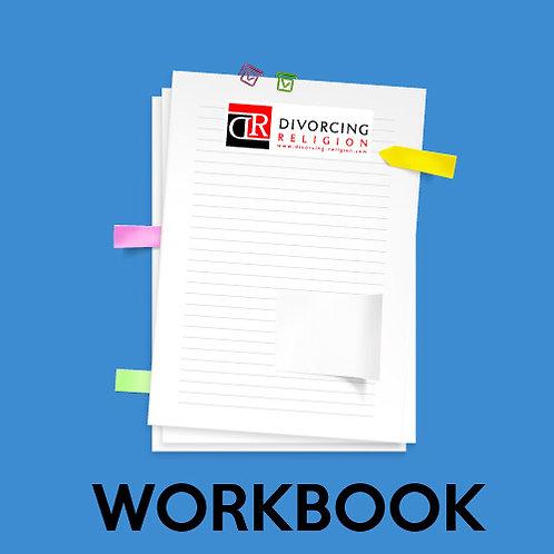 The Divorcing Religion Workbook+ Bonus