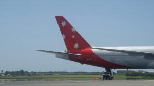 Aussie plane
