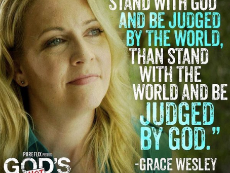 Guest Post: God's Not Dead 2: Rise Of The Christian Persecution