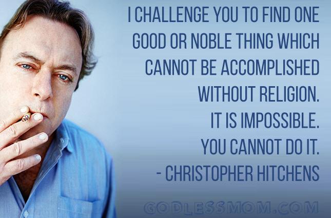Christopher Hitchens Challenge