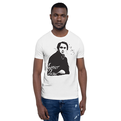 Carl Sagan Short-Sleeve Unisex T-Shirt
