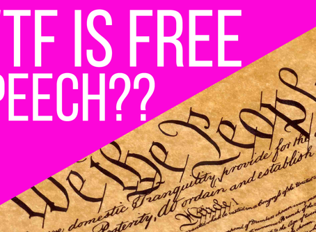 New Video: Do YOU Understand Freedom of Speech?