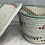 Thumbnail: White, Blue, Pink, and Beige Handwoven Basket From Uganda
