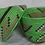Thumbnail: Green & White Handwoven Basket From Uganda