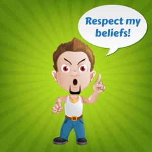 respect my beliefs