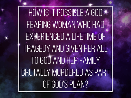 Your Stories of Atheism: Murder Is Part Of God's Plan