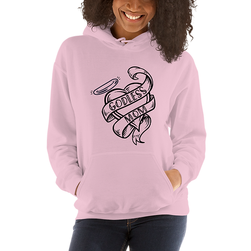 Godless Mom Unisex Pastel Hoodie