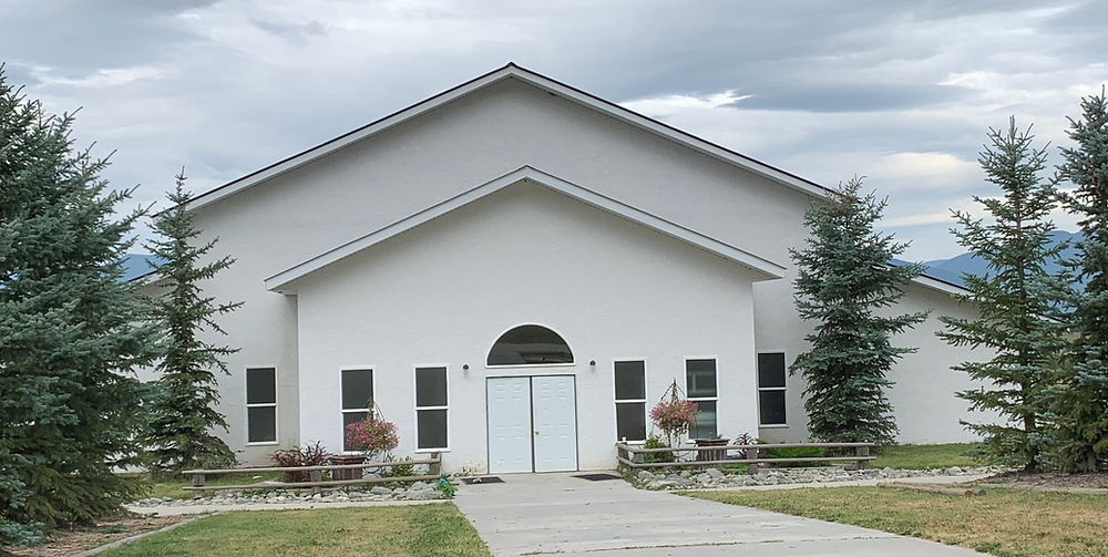 The church in Bountiful, BC