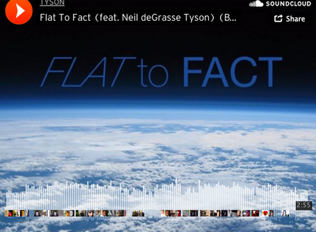 Neil DeGrasse Tyson and Nephew Rap a Response To Flat Earther #ThingsYouCantMiss