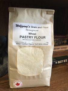 Wolfgang's local Okanagan pastry flour