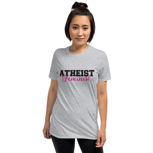 Atheist Feminist Short-Sleeve Unisex T-Shirt