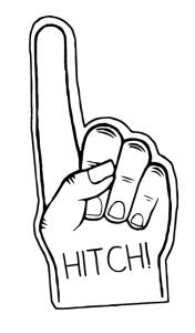 Hitchslap hand