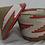 Thumbnail: Pink & White Handwoven Basket From Uganda