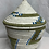 Thumbnail: Blue, White, and Beige Handwoven Basket From Uganda