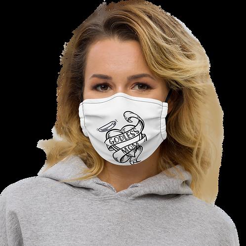 Godless Mom Premium face mask