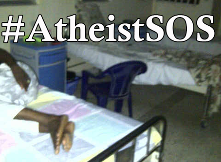 Nigerian Apostate Hospitalized After Being Beaten, Drugged – We Need Your Help #AtheistSOS