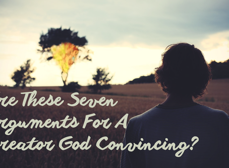 Are These 7 Arguments For A Creator God Convincing?