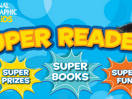 Every Atheist Parent Needs: National Geographic Super Readers