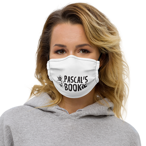 Pascal's Bookie Premium face mask