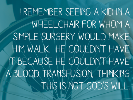 Your Stories of Atheism: Child Refused Healing Surgery