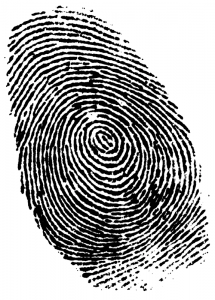 Forensics fingerprint
