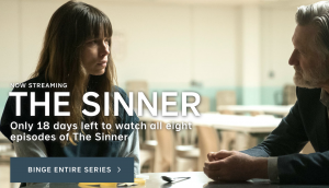 The Sinner TV Show