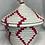 Thumbnail: White and Pink Handwoven Basket From Uganda