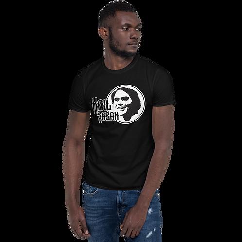 Black Hail Sagan Short-Sleeve Unisex T-Shirt