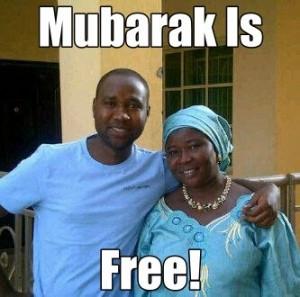 Mubarak Is Free!