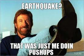 Chuck Norris Earthquake