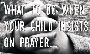 Child prayer atheist
