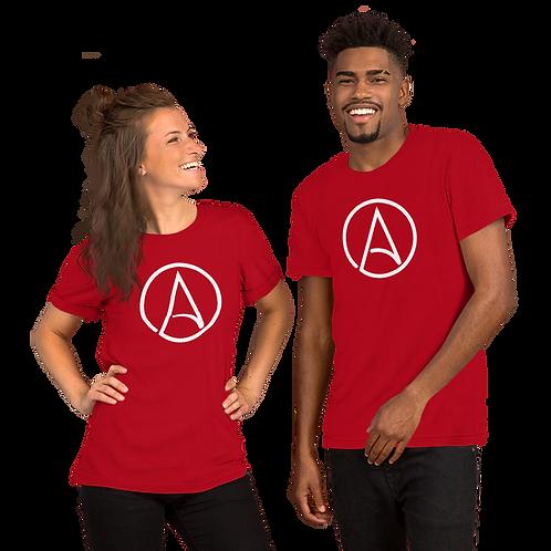 Atheist Symbol Short-Sleeve Unisex T-Shirt