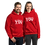 """Thumbnail: Covid vaccine """"got the prick so you don't get sick"""" Unisex Hoodie"""